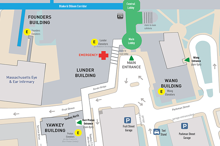 Massachusetts general hospital cancer center campus and building campus and floor maps malvernweather Gallery